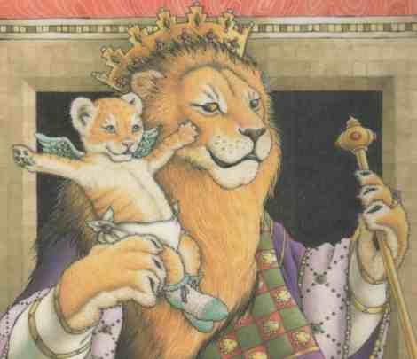 つばさをもらったライオン1