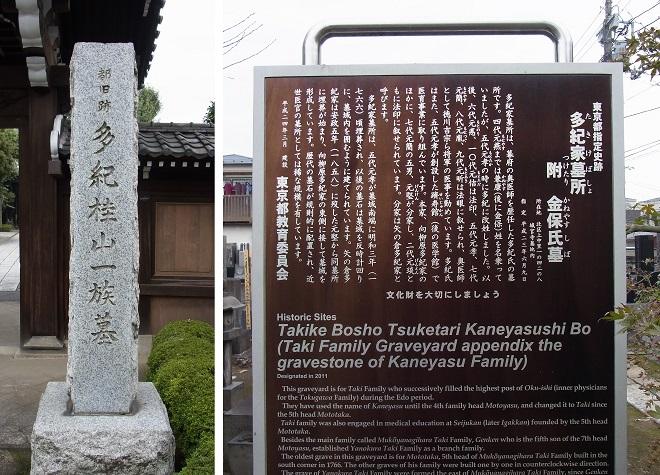 多紀家墓所