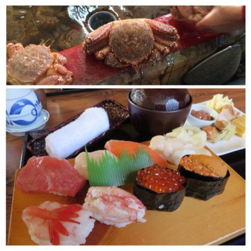広尾カニ寿司