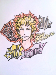 JACKPOT DAYS!! -poetrical rock n'roll and beat gallery--ジョニー パンク.jpg