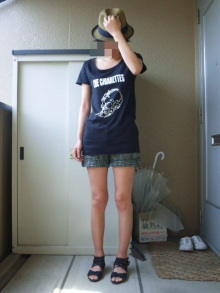 JACKPOT DAYS!! -poetrical rock n'roll and beat gallery--THE CIGARETTES Tシャツ.jpg