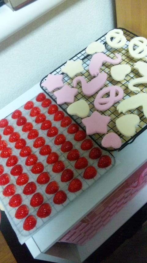 苺&クッキー