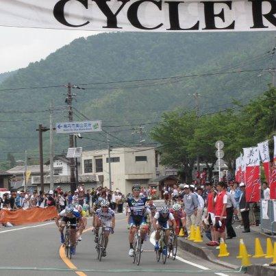 美山ロード ゴール
