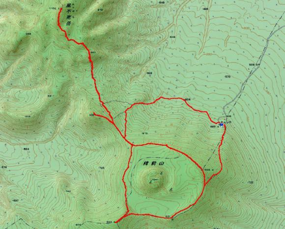樽前山 地図