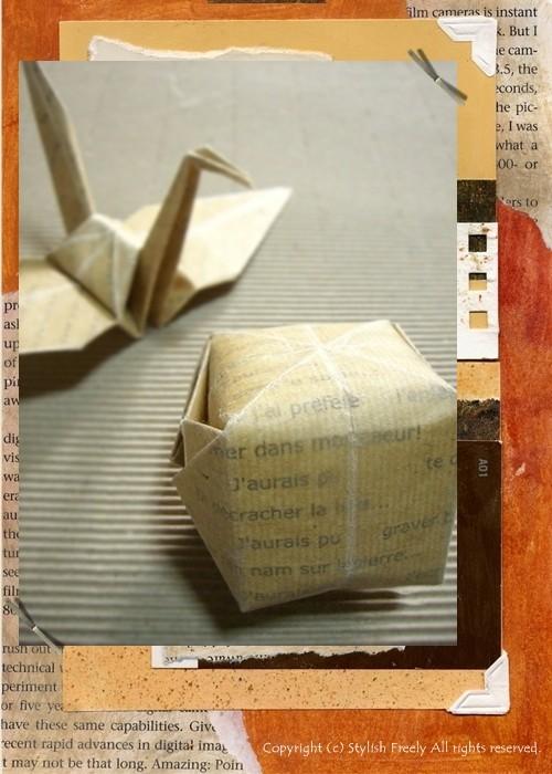 ロウ引き紙で