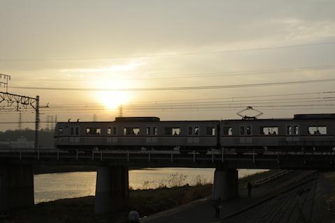 綱島・鶴見川