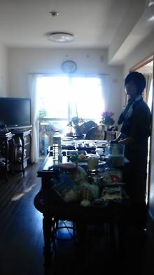 獣の足跡をたどって・・・-お料理教室風景