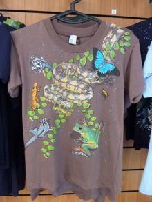 獣の足跡をたどって・・・-Tシャツ