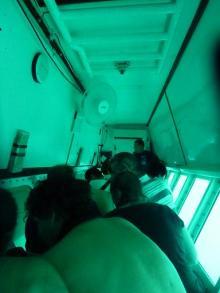 獣の足跡をたどって・・・-ミニ潜水艦