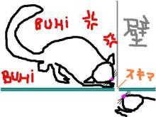 Dino & Lulu☆-あらそいの図
