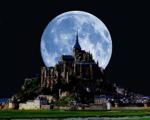 吸血鬼の城 クリックで拡大
