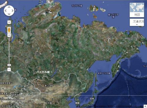 ユーラシアー北米プレート
