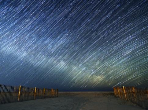 ニュージャージーの星の軌跡