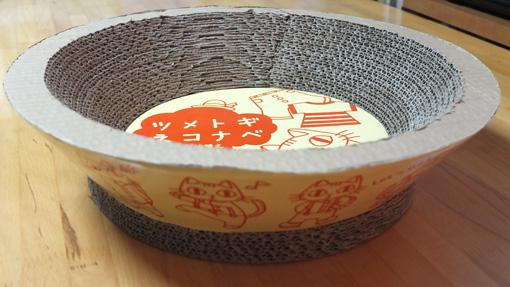 ナツ用爪研ぎ鍋