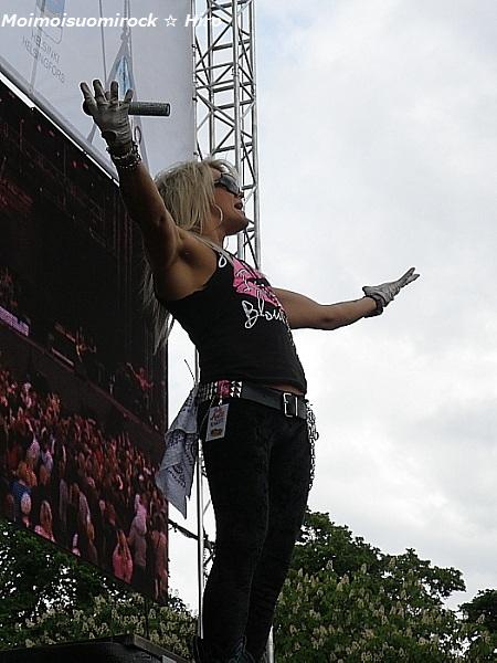 Reckless Love Heisinki-päivä Kaisaniemi 12.06.2012
