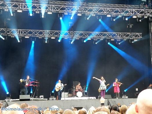 Erin Helsinki-päivä Kaisaniemi 12.06.2012