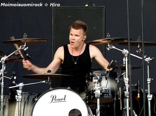 The Rasmus Helsinki-päivä Kaisaniemi 12.06.2012