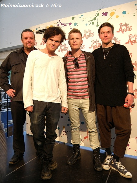 The Rasmus Helsinki-piv Kaisaniemi 12.06.2012