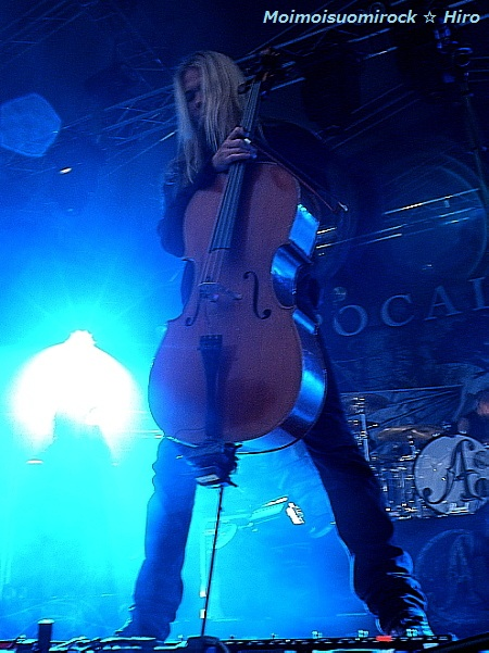 Apocalyptica Riihimki Rock 30.06.2012