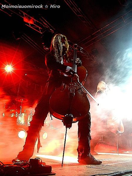 Apocalyptica Riihimäki Rock 30.06.2012