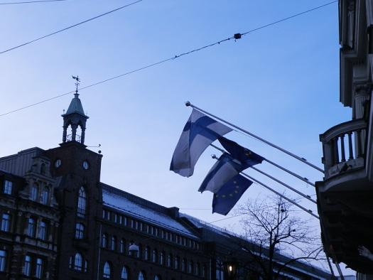 Suomi lippu