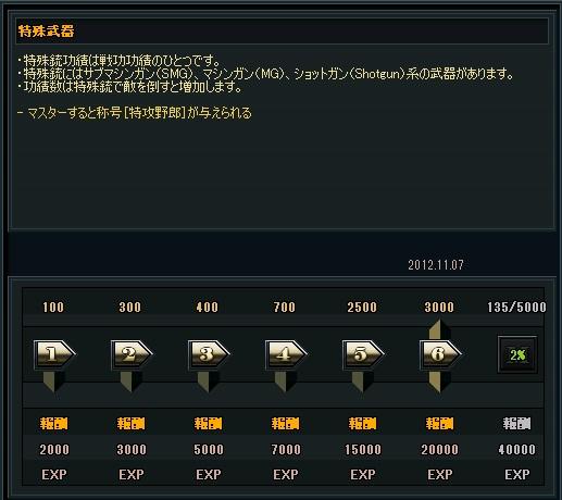 特殊残り4865kill