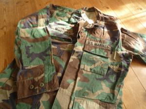 米軍迷彩シャツ