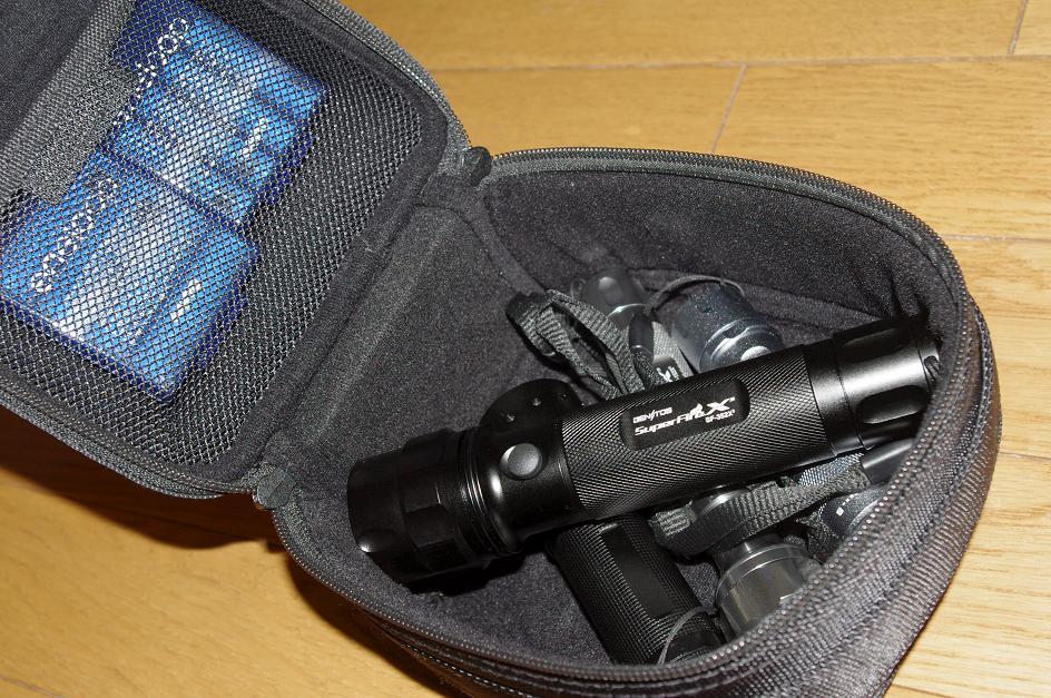 ライト収納と新しくSF-352X3追加