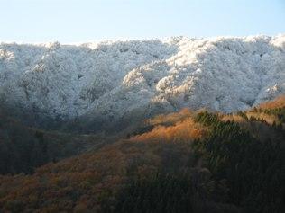 12年11月25日 氷ノ山 雪化粧