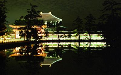 大仏殿夜景正面