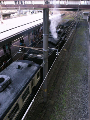 新潟蒸気機関車