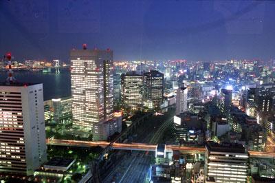 田町方面夜景