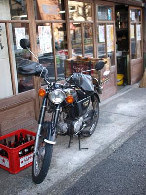 目白酒屋バイク