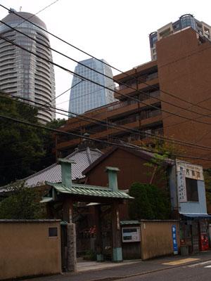 愛宕寺院と段ボール
