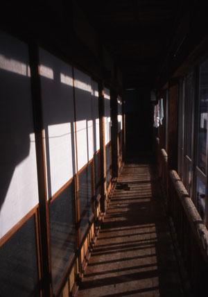 大沢温泉廊下