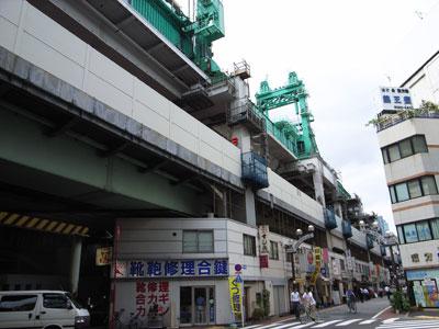 東北縦貫線神田駅周辺