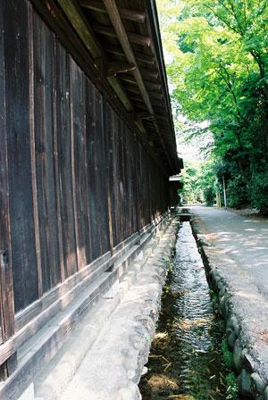 昭島諏訪神社横民家