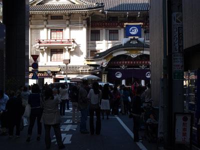 銀座歌舞伎座最終
