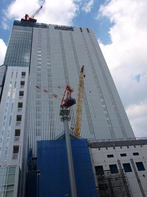 改築中歌舞伎町