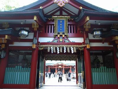 日枝神社門