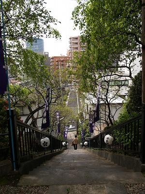 北野神社石段