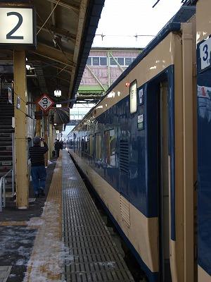 雪の大舘駅