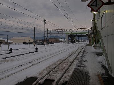 大舘駅外景
