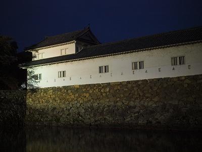 夜の彦根城