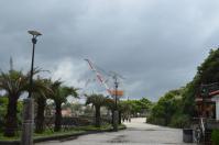 基隆和平島から造船所を撮る