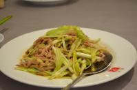 天廚菜館の黄韮肉絲