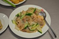 天廚菜館の炒三鮮