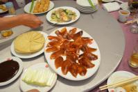 天廚菜館の北京ダックセット