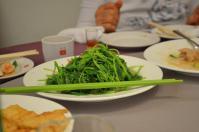 天廚菜館の野菜炒め