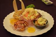北海宴會館の宴会コース「前菜オードブル」
